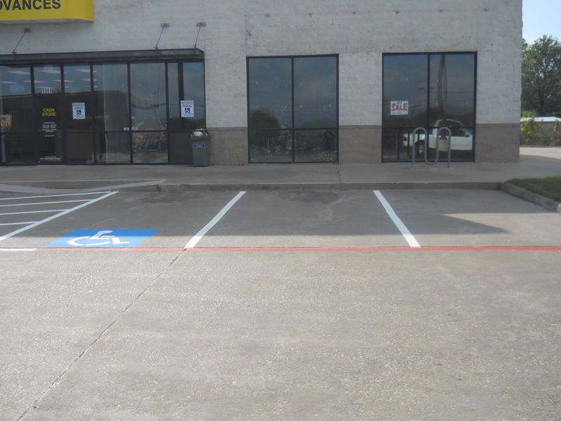 Parking Lot Striping - Overview #2
